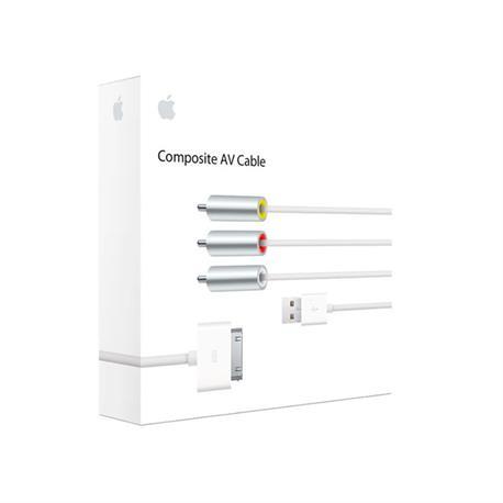 CABLE APPLE AV IPOD COMPUESTO