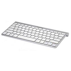 TECLADO KL-TECH KTB0025 MINI BLUETOOTH ALUMINIO BLANCO