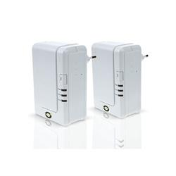 PLC ADAPTADOR DE RED LÍNEA ELÉCTRICA POWER LINE 200 MBPS CONCEPTRONIC HOME NETWORK