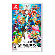 JUEGO NINTENDO SWITCH SUPER SMASH BROS ULTIMATE