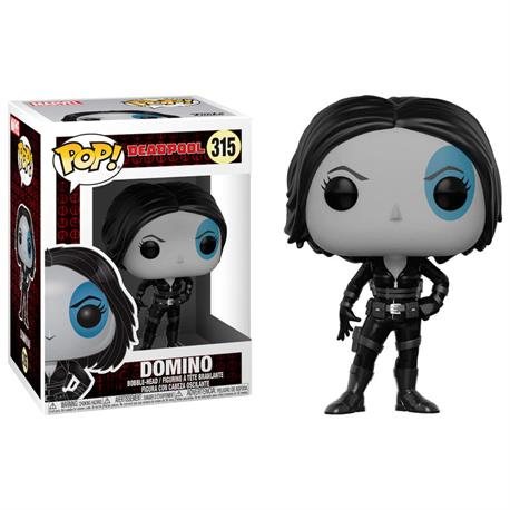 FIGURA POP DEADPOOL DOMINO