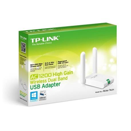 TP-LINK AC 1200 WIFI USB DUAL BAND ARCHER T4UH