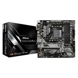 PLACA BASE ASROCK B450M PRO4 AMD AM4 MATX
