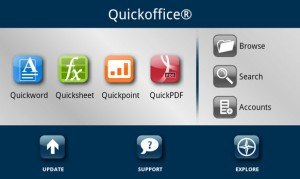 QuickOffice Android e iOS